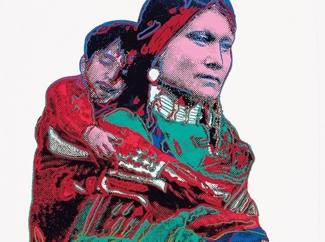 Mother and Child by Andy Warhol