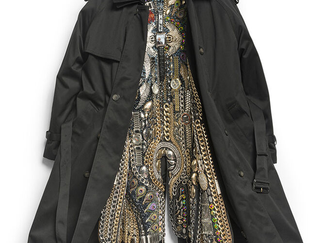 Hustle Coats by Nick Cave