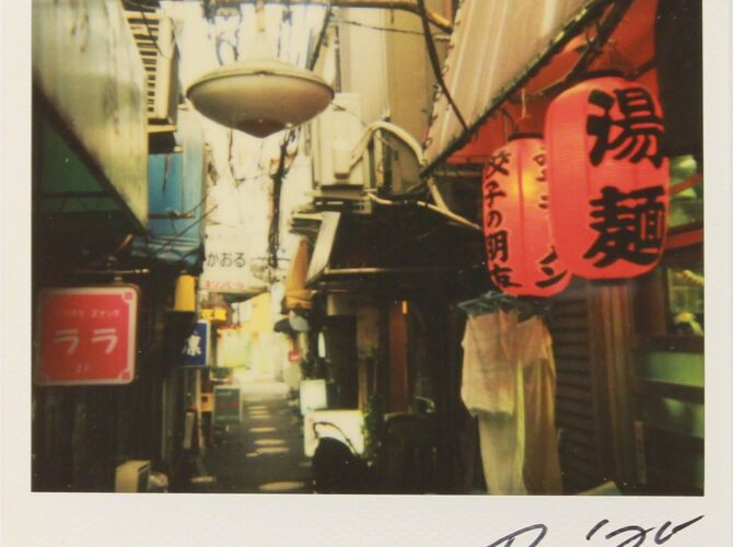 Bye-Bye Polaroids by Daido Moriyama