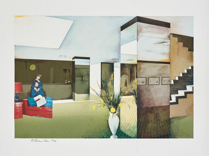 Lobby by Richard Hamilton