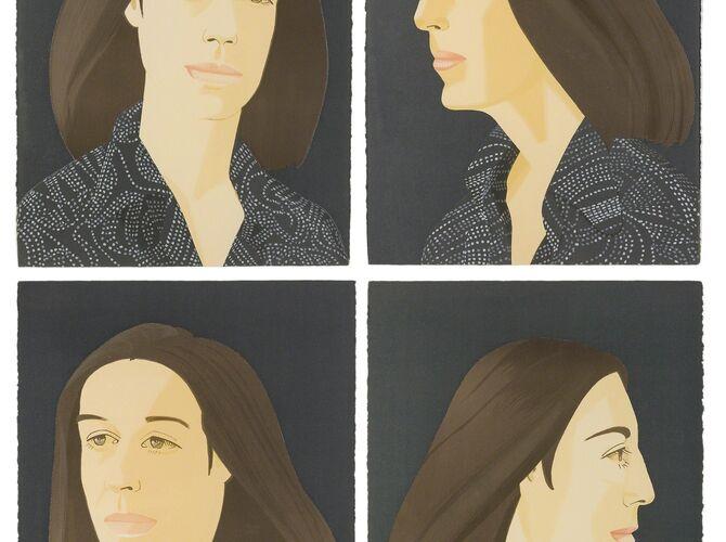 Ada by Alex Katz