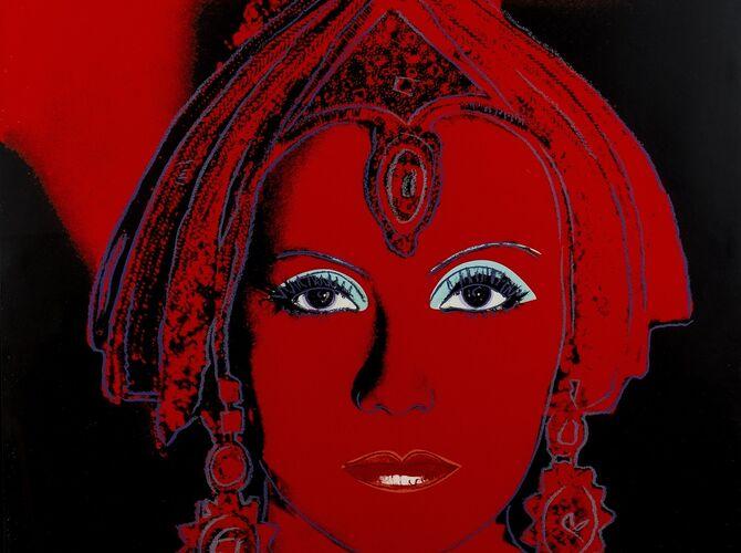 Greta Garbo by Andy Warhol