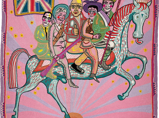 Embroidery by Grayson Perry
