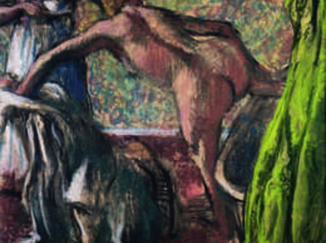 Bathers by Edgar Degas