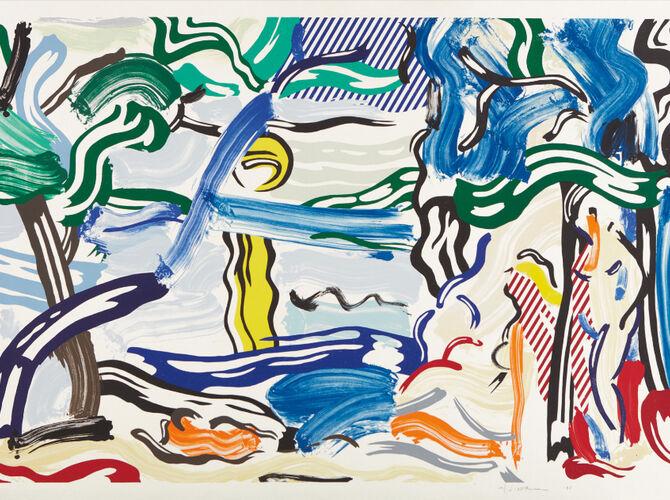 Moonscapes by Roy Lichtenstein
