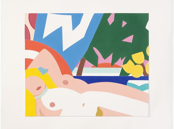 Sunset Nudes by Tom Wesselmann