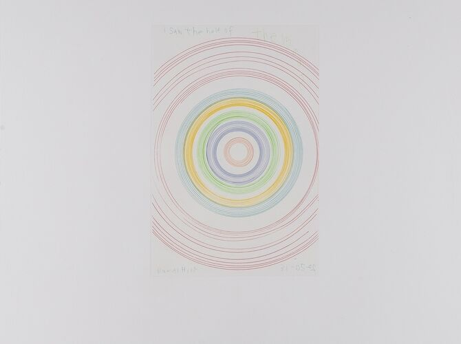Spin Paintings by Damien Hirst