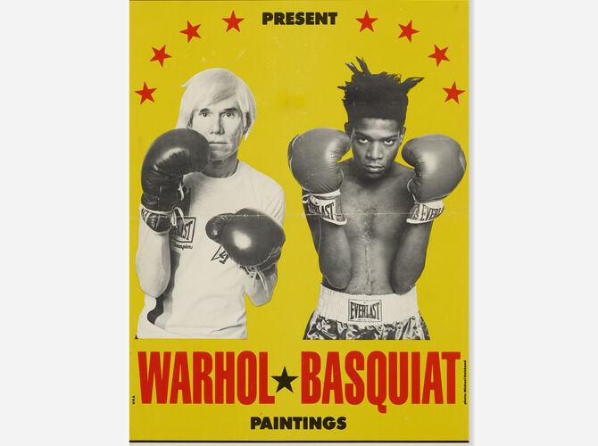 Jean-Michel Basquiat by Andy Warhol