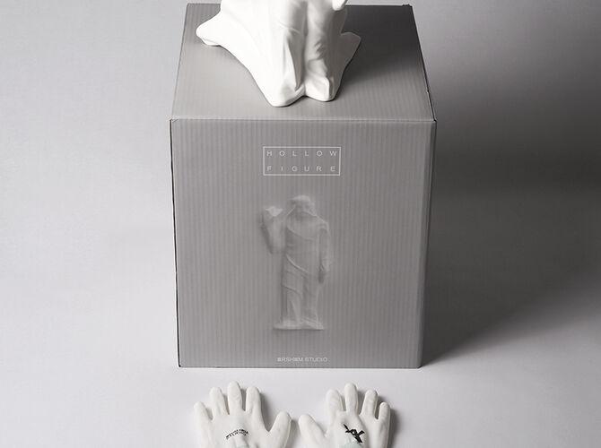 Hollow Figure by Daniel Arsham