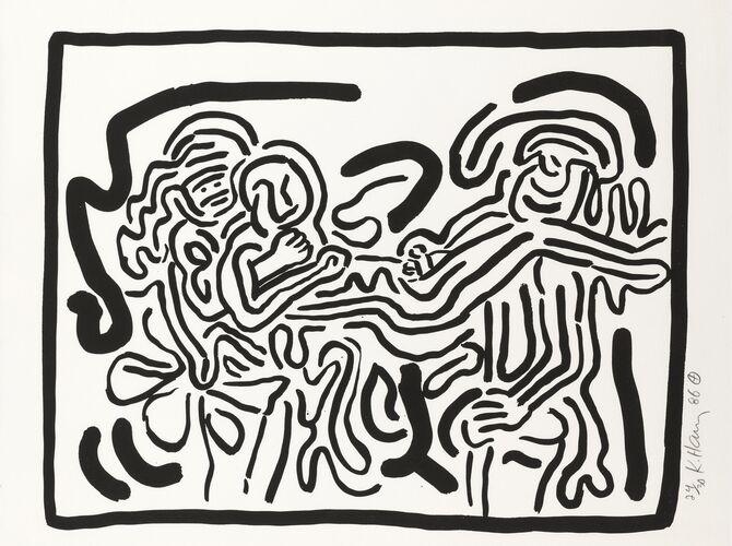 Bad Boys by Keith Haring