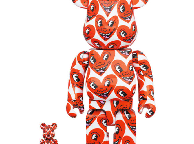 Bearbrick by Keith Haring