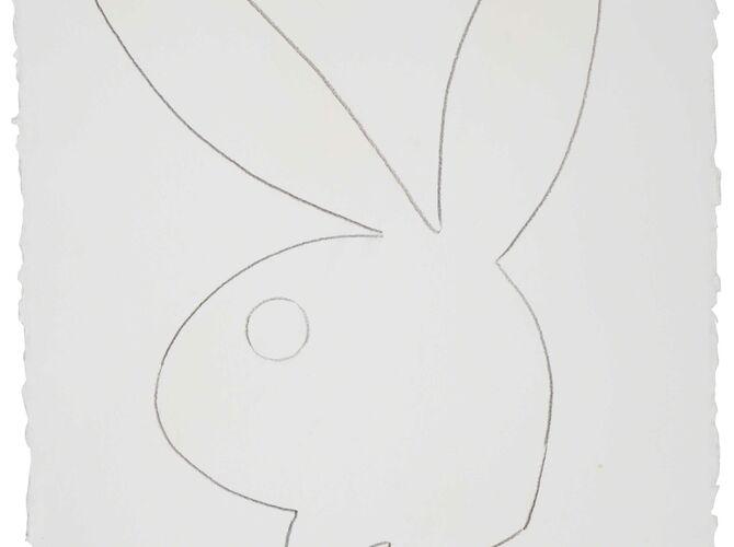 Playboy Bunny by Andy Warhol