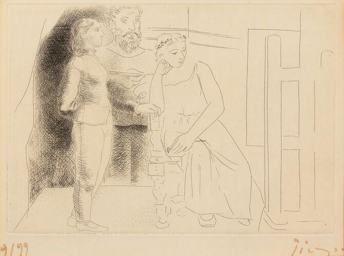Honoré de Balzac by Pablo Picasso