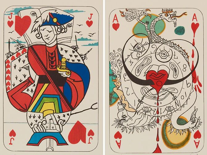 Playing Cards by Salvador Dalí