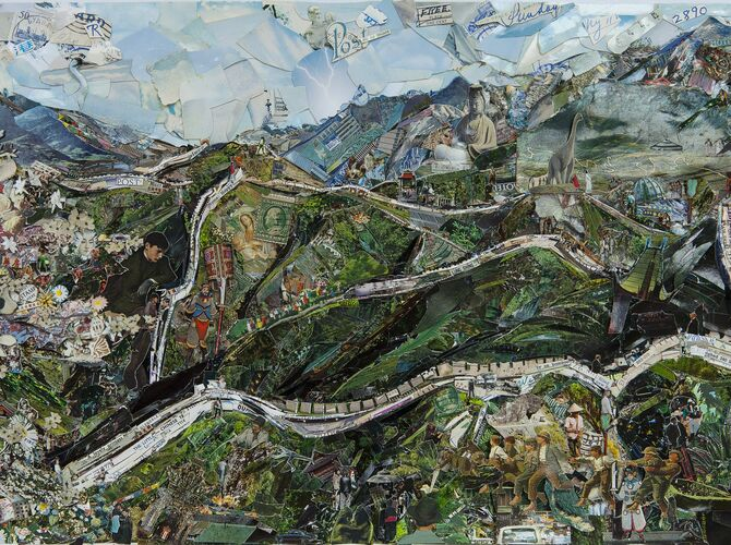 Postcards From Nowhere by Vik Muniz