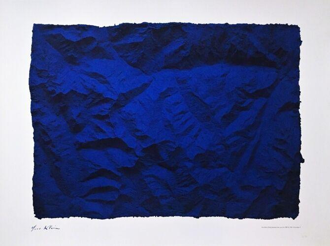 International Klein Blue by Yves Klein