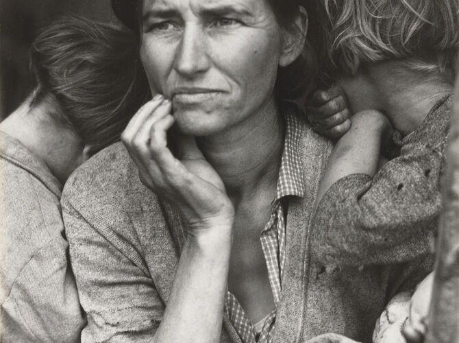 California by Dorothea Lange