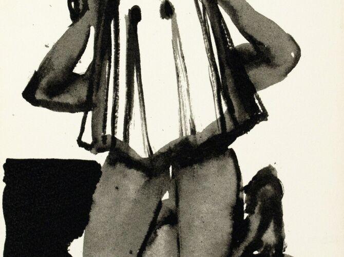 Faceless by Marlene Dumas