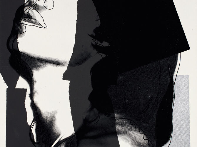 Mick Jagger by Andy Warhol
