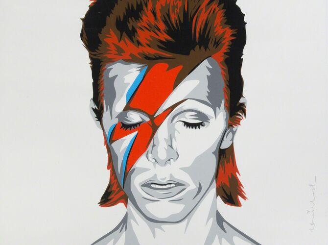David Bowie by Mr. Brainwash