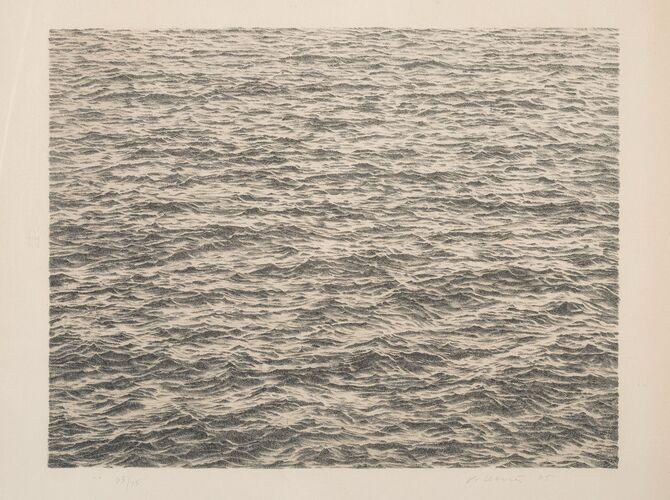 Oceans by Vija Celmins