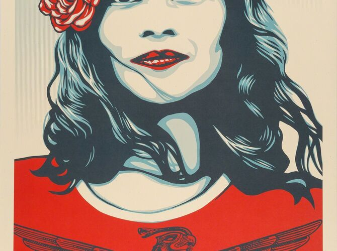 We the People by Shepard Fairey