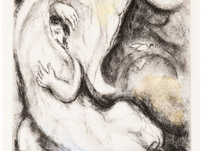 Chagall Bible by Marc Chagall