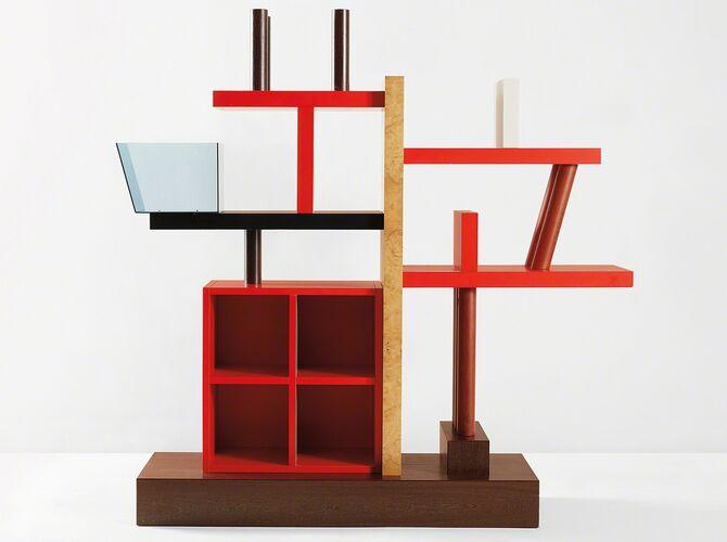 Bookshelves by Ettore Sottsass