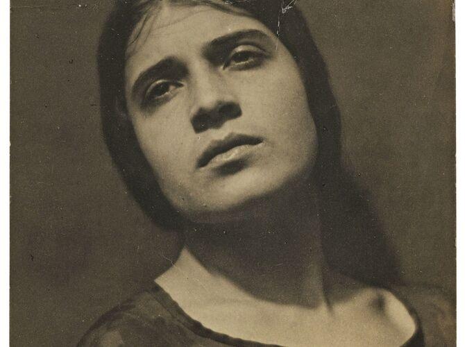 Tina by Edward Weston