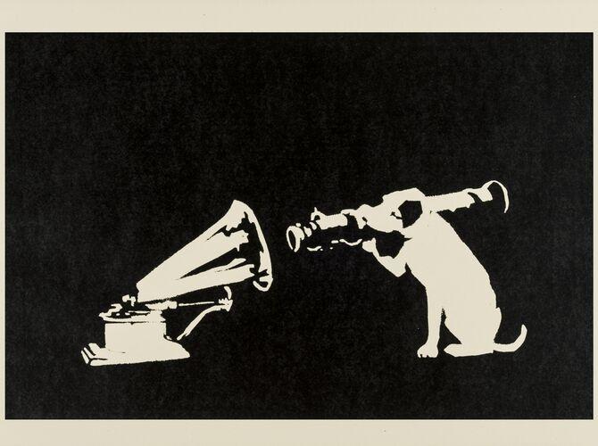 HMV by Banksy
