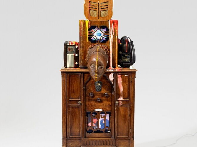 Robot by Nam June Paik