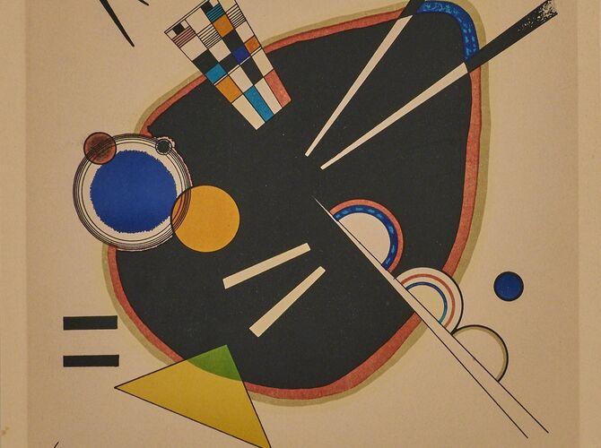Circles by Wassily Kandinsky