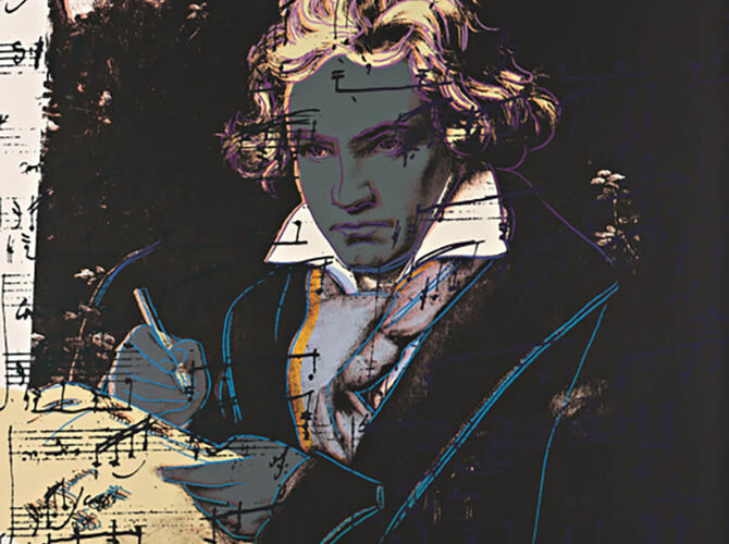 Beethoven by Andy Warhol