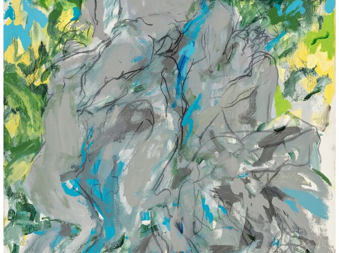 Bacchus by Elaine de Kooning