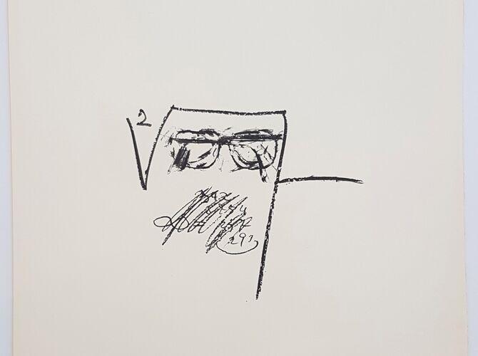 Llambrec Material by Antoni Tàpies