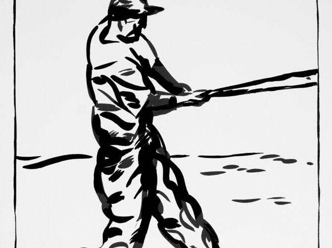 Baseball by Raymond Pettibon