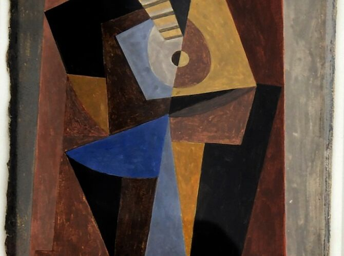 Cubist Period by Pablo Picasso