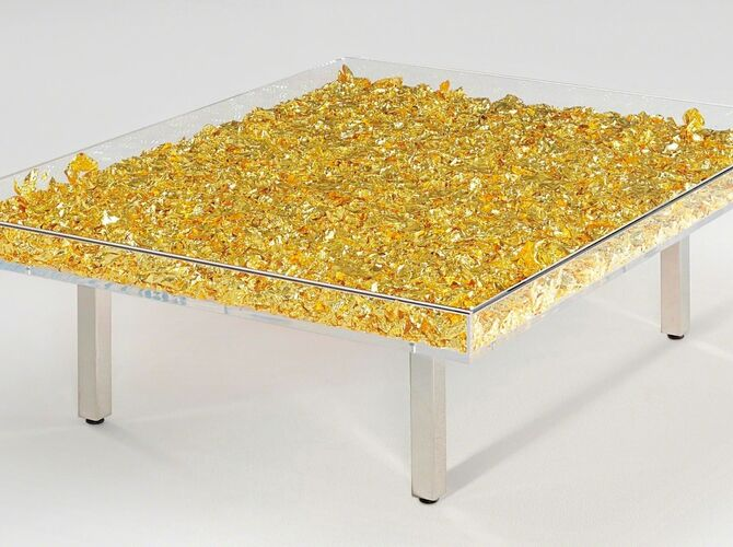 Tables by Yves Klein