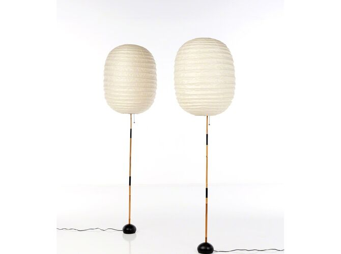 Table Lamps by Isamu Noguchi
