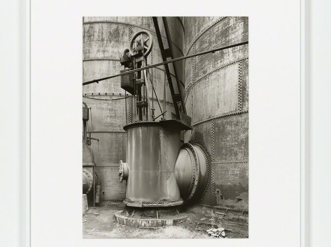 Blast Furnaces by Bernd and Hilla Becher