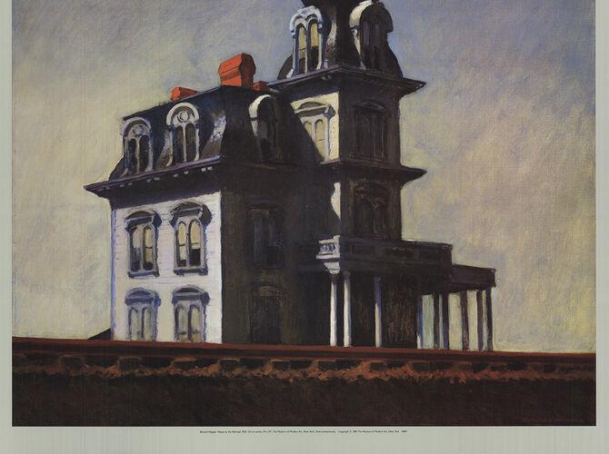 Houses by Edward Hopper