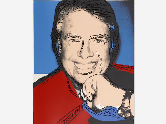 Jimmy Carter by Andy Warhol