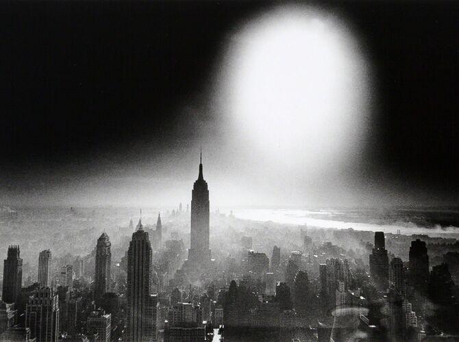 Atom Bomb Sky by William Klein