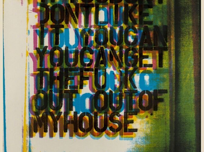 My House by Christopher Wool