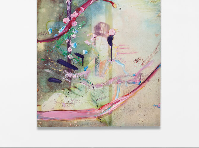 Chinese Paintings by Julian Schnabel