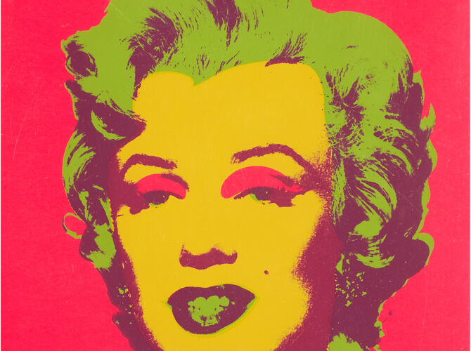 Red Marilyn by Andy Warhol