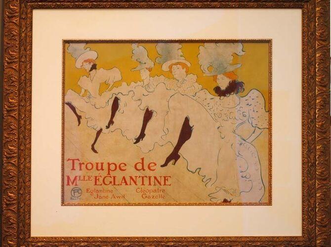 Troupe de Mlle Eglantine by Henri de Toulouse-Lautrec