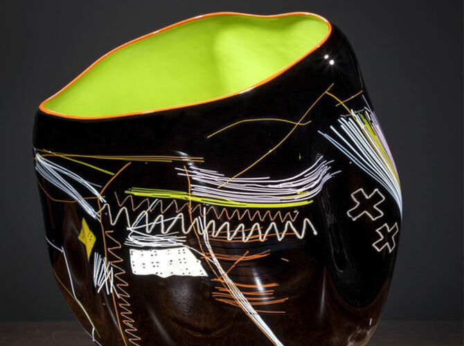 Cylinders by Dale Chihuly