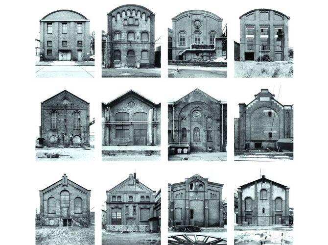 Industrial Facades by Bernd and Hilla Becher