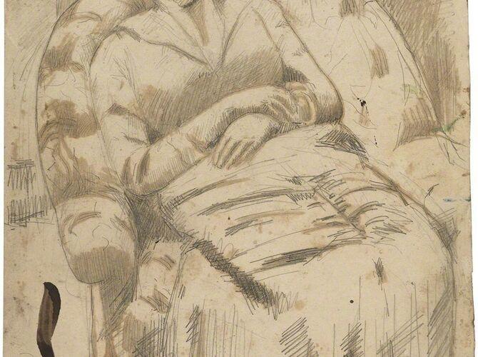 Armchairs by Mary Cassatt